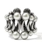 Lia Sophia Fashion Jewelry - Share the Love of Jewelry Pearl Cage Cuff