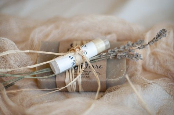 lavender soap wedding favor ideas