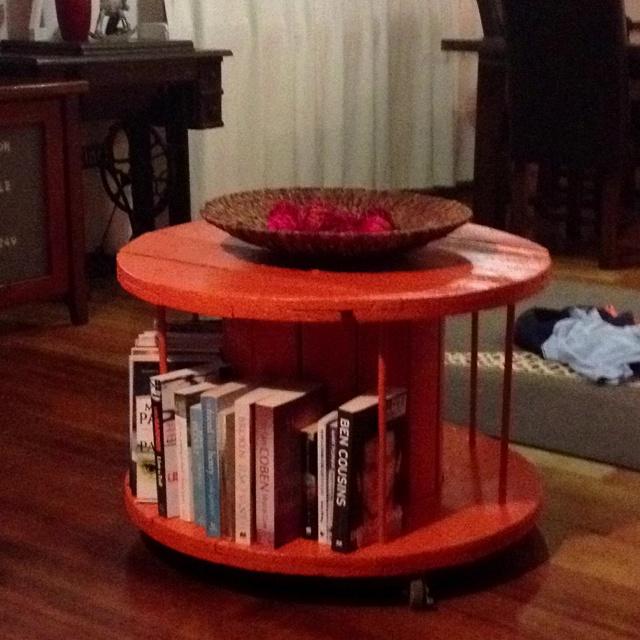 Home made coffee table :)