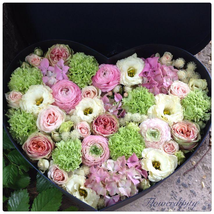 Heart full of flowers #special #love #flowers #heart