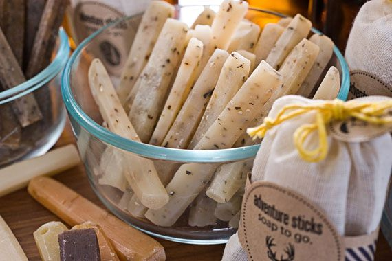 Handmade Soap Sticks - All natural and cute!
