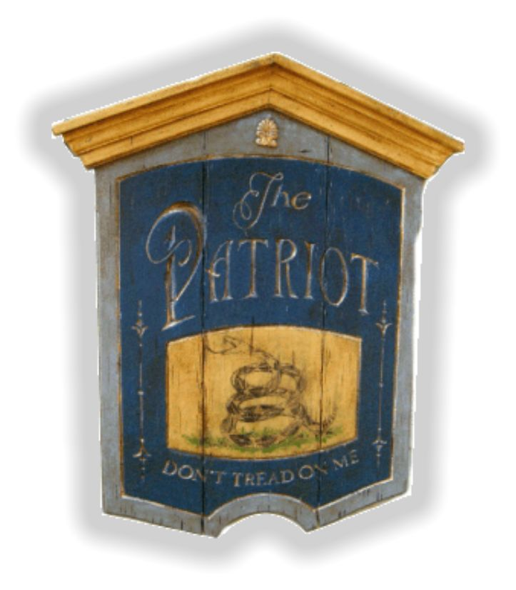 Colonial Tavern Signs | Colonial Signs