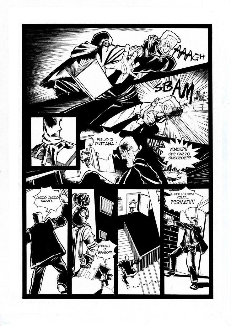 Evil Seed Tav10 #evil#seed#serial#killer#detective#underground#comics#black#white#book#escape#horror#thriller#FBI#bd#mal#grain#enqueteur#ink#