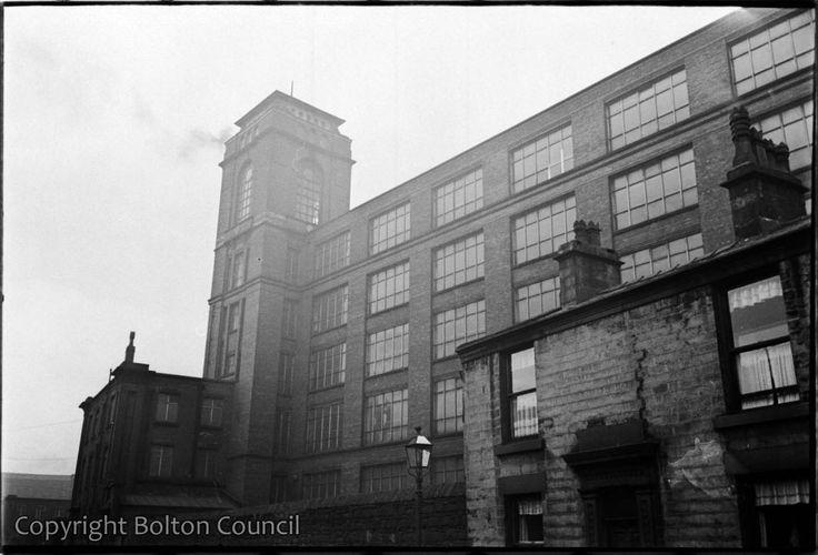 Egyptian Mill, Slater St, Bolton.