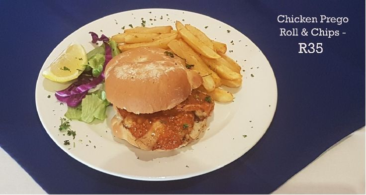 This week's Specials at Adega Randburg (Sit in or Take away):  *Grilled Panga and Chips - R75 - Half the menu Price (A Flavoursome deboned and filleted delicacy) *Chicken Prego Roll and Chips - R35 (Tenderised Chicken breast served with our special Peri mayonnaise sauce) Call 011 791 5221 for more details