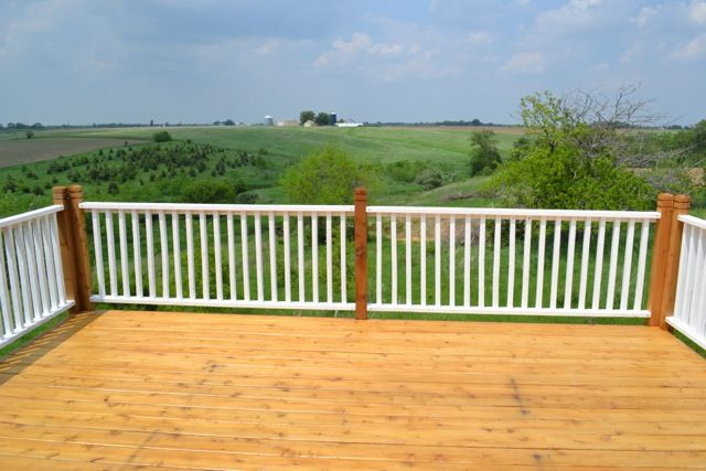 How to paint porch rails and stain a new deck stains how to paint and do do for What is the best exterior paint for decks
