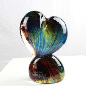 Love - sculpture in calcedony - Tagliapietra