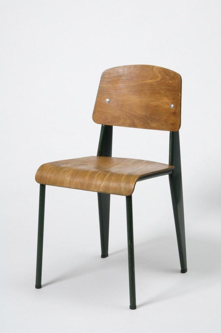 """Standard"" Chair, 1930, designed by Jean Prouvé, made by Les Ateliers Prouvé"