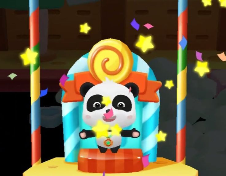 Gold Medal | Baby Panda Olympic | 3D Video Games