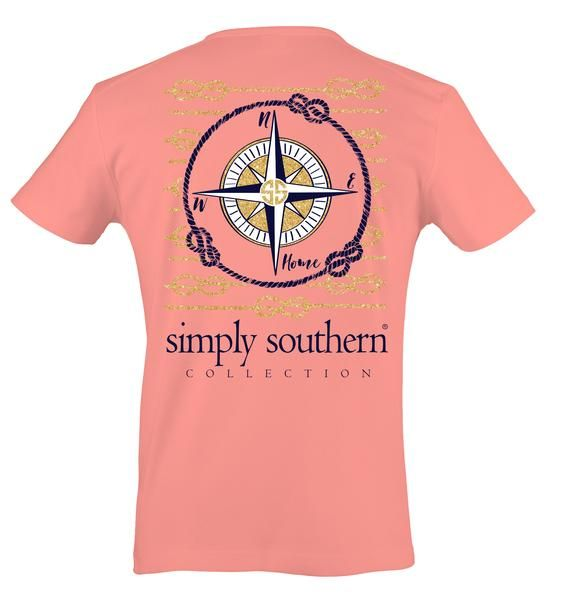 Simply Southern Compass T-Shirt - On Sale Now!! 30% Off While