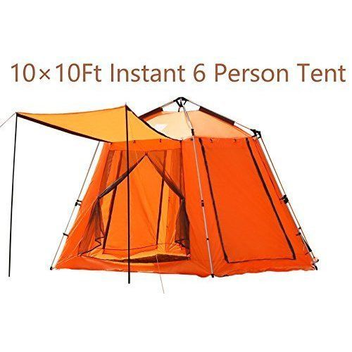 Camping Beach Hikking Tent 6 Person w/ Cannopy Outdoor Shelter Dome High Quality #OutdoorSolutions