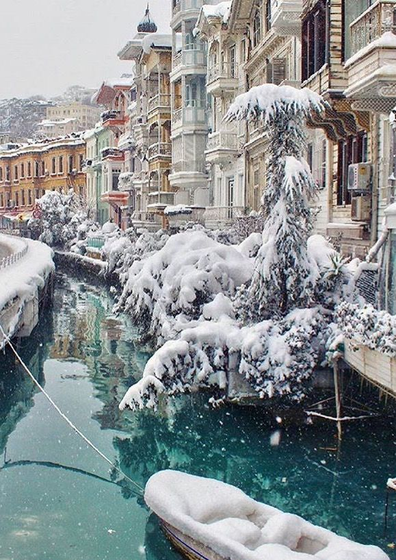 winter time in Istanbul