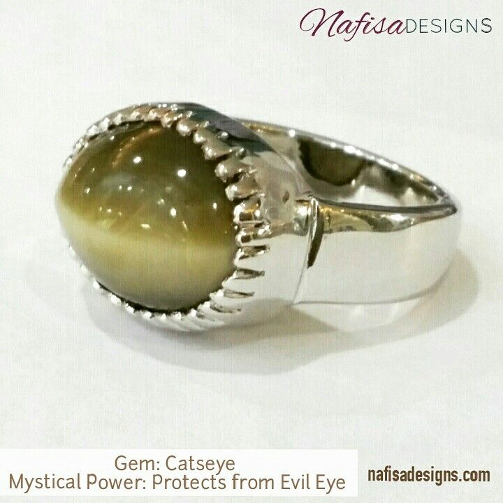 Customized Catseye men ring in Silver. Catseye is believed to protect your possessions from Evil Eye and bad intentions. Gem and making by Nafisa Designs. www.nafisadesigns.com  Hamad AlMubarak St.  Shaheen Alghanim complex. Under Beit Dickson Restaurant.  Salmiya. Kuwait @nafisadesigns  @nafisadesigns @nafisadesigns   #nafisadesigns #Kuwaiti #catseye #men ring #customized #jewelrydesigner #gemstone #protectiongem