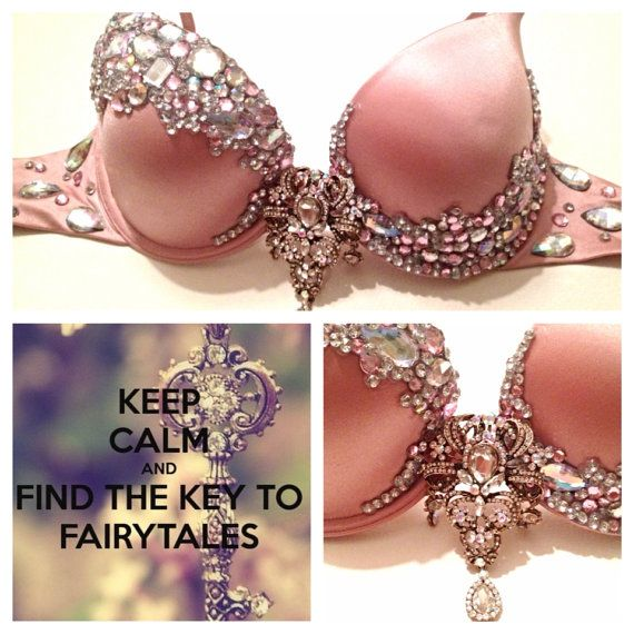 PRINCESS rave bra design~~~ I heavily believe in making your own outfits, but this top bra is so pretty I had to repin!
