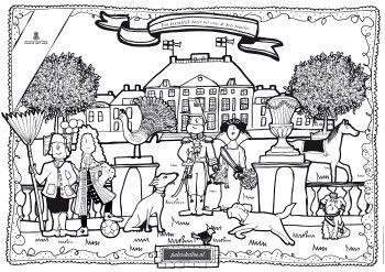 Kinderen kunnen zich uitstekend vermaken bij Paleis Het Loo. Van een audiotour tot speelpaleis en van speurtochten tot interactieve quizzes. Beleef het mee!