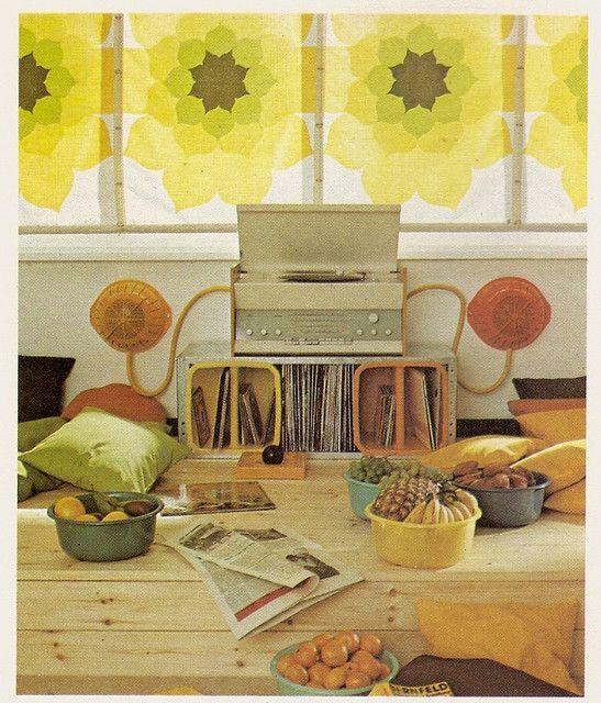 Hippie Kitchen Decor: 36 Best 70's Decor Images On Pinterest
