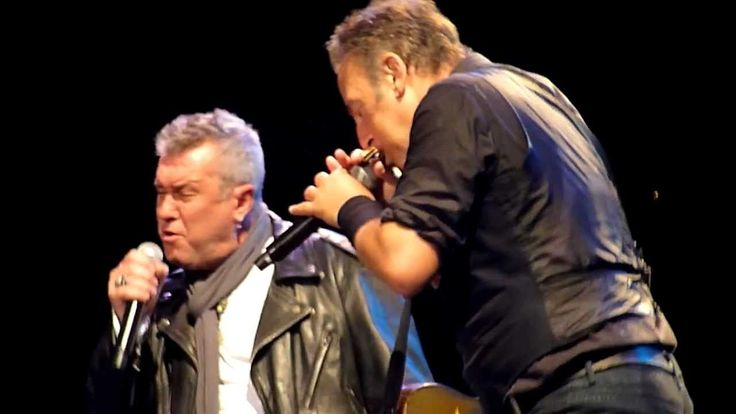 """Tougher Than The Rest"" - Bruce Springsteen & Jimmy Barnes -  - Live in 2013....So good!!!!!!"