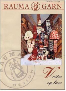 Rauma Garn - Mittens and Hats Pattern Book - translated sold online at Ingebretsen's