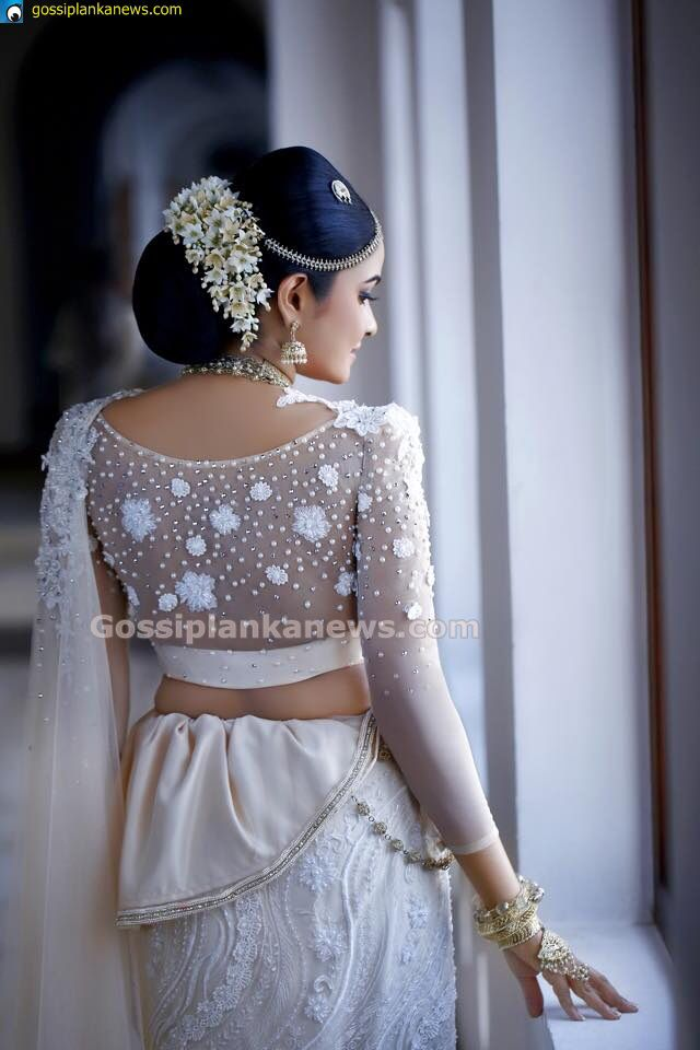 Modern Kandyan Bridal Saree Jacket Designs