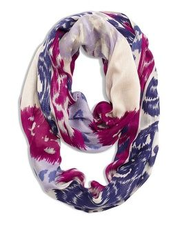 Chico's Ikat Infinity Scarf is a great gift under $50. Sponsored.