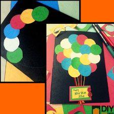 Paper baloon