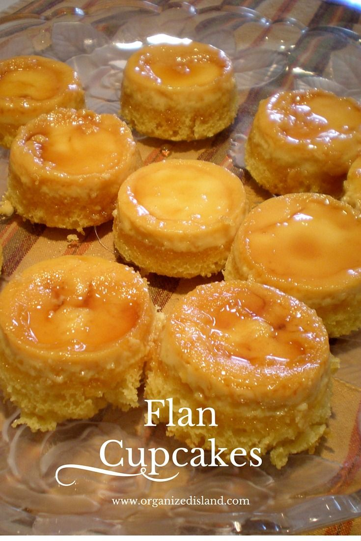 Simple recipe for Caramel Custard Flan Cupcakes. The sweet taste of custard and caramel in a cupcake!