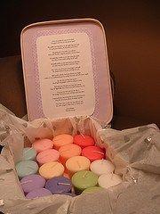 Candle wedding present/ bridal shower gift