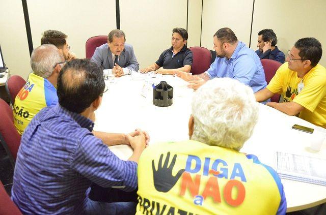 Deputado vai ao Ministério Público contra ameaça de demissão de 700 trabalhadores da Eletrobras O deputado estadual Sinésio Campos (PT)