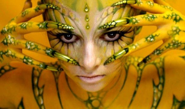 Beautiful Body Painting Pictures from World Body Painting Festival - 21