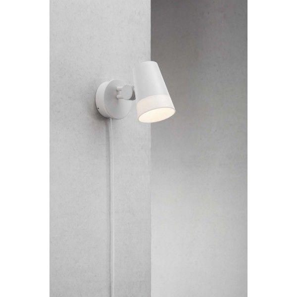 Sonate   lampa ścienna  biel - Oscarlux.pl