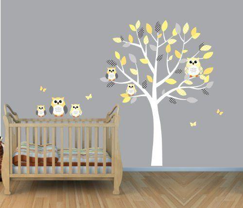 Best Ems Yellow Baby Nursery Images On Pinterest - Nursery wall decals gender neutral