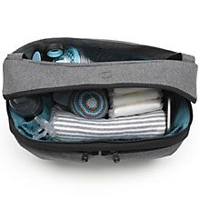 Buy Bugaboo Changing Bag Organiser, Grey Online at johnlewis.com