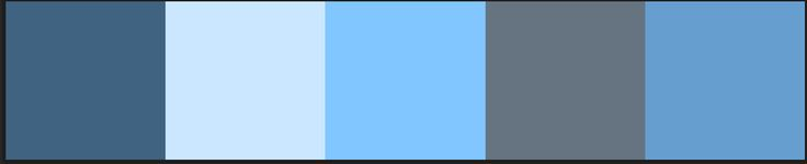 Lighter palette with cyan and similar light blues.