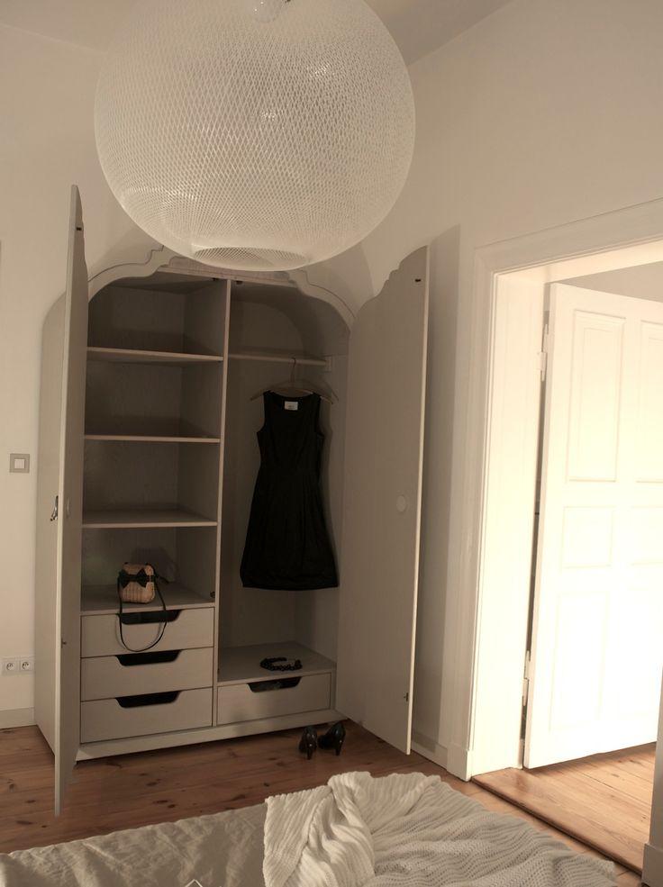 Sypialnia, projekt szafy