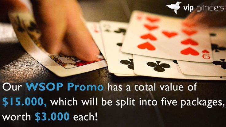 http://VIP-Grinders.com Five players will be sent to the World Series of Poker in Las Vegas for one week from the 23th to the 30th of June. Find out how, Join today and make Your Online Poker more Profitable! Visit VIP-Grinders.com/Rakeback-Deals Listen to the Professional Poker at: https://soundcloud.com/VIP-Grinders Find More Videos on Professional Poker at: https://www.youtube.com/channel/UCAsHyPQgg__WMbkkPLC8JuQ?