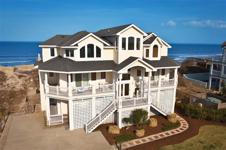 Macdaddy 673 L Corolla Nc Outer Banks Vacation Rental Home L Oceanfront Home With Ten