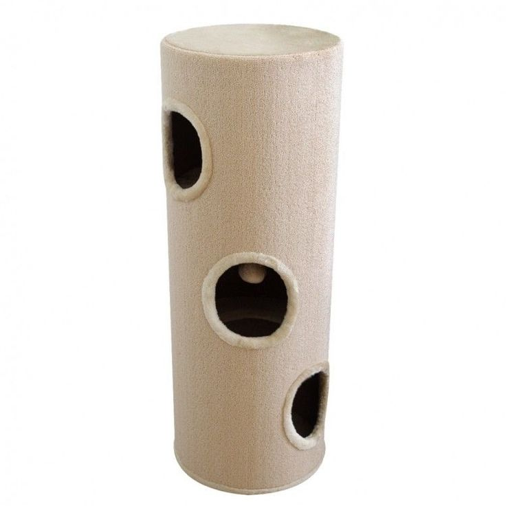 Cat Scratching Tower Cathouse Home Ball Toy Relaxing Area Playground Kitten Post #CatScratchingTower