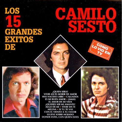 Los 15 Grandes Exitos de Camilo Sesto [CD]