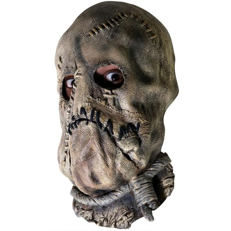 Dark Knight Scarecrow Adult Mask from Warner Bros.: This Batman costume accessory features the villain Scarecrow.… #Movies #Films #DVD Video