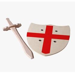 St. George Sword & Wooden Shield