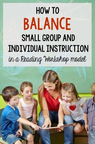 If you have a hard time fitting in your guided reading groups AND individual reading conferences, this post is for you! It describes how to make time for both types of instruction in a reading workshop model.
