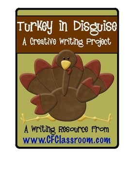 Turkey in Disguise Writing & Craft Project (cute bulletin board). This is a fun project that allows children to combine writing with the creative arts. It can be done at home as a family project or in school. I use it to teach persuasive writing, but it would also be ideal for descriptive writing.