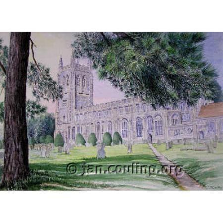 Long Melford Church, Buildings, J. A. Couling, SAA Professional Members' Galleries
