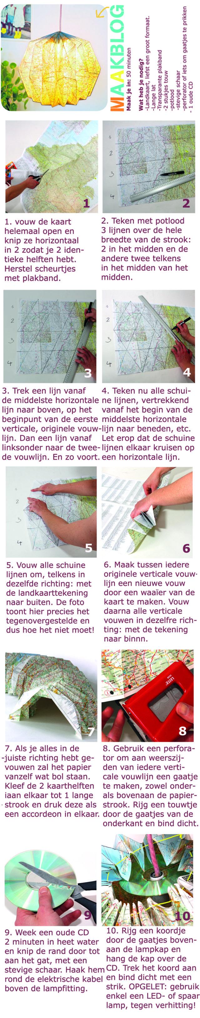 landkaart-lamp tutorial