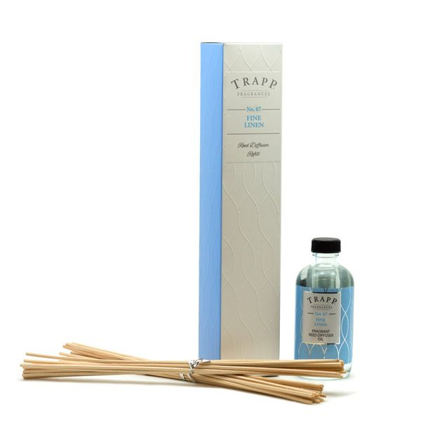 No. 67 Fine Linen - 4oz Reed Diffuser Refill | Trapp Candles