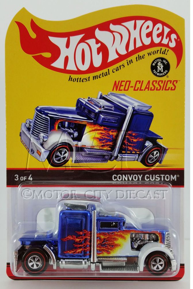 2013 Hot Wheels RLC Neo-Classics Convoy Custom