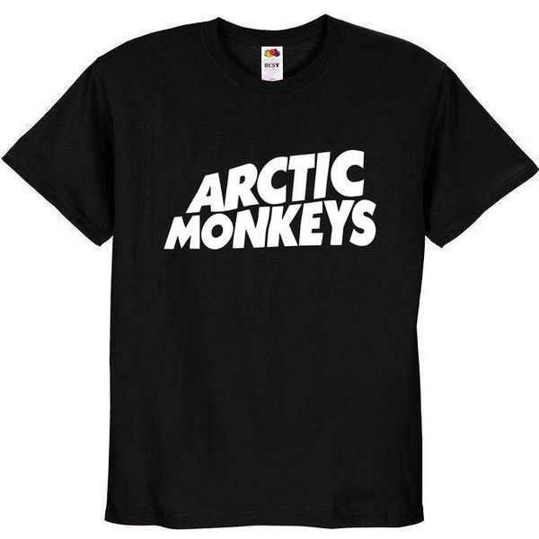 Arctic Monkeys T-Shirt Unisex Adult Sizes S M L XL ($15) ❤ liked on Polyvore featuring tops, t-shirts, shirts, tees, unisex tees, monkey shirt, unisex shirts, monkey tees and shirts & tops