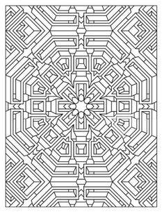 dover coloring book creative haven mandala madness - Google Search