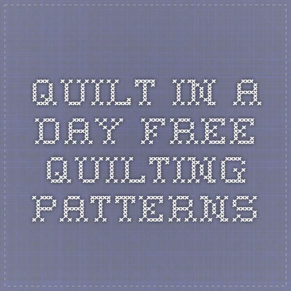 Πάνω από 25 κορυφαίες ιδέες για Quilt in a day στο Pinterest : quilt in a day free patterns - Adamdwight.com