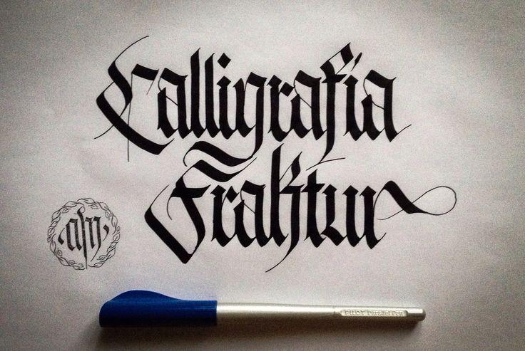 Calligrafia Fraktur 2014 Alberto Manzella Tutti I